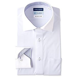 (はるやま) HARUYAMA(ハルヤマ) i-shirt 完全ノーアイロン 長袖 クレリックアイシャツ M151180095 81 サックス M82(首回り39cm×裄丈82cm)