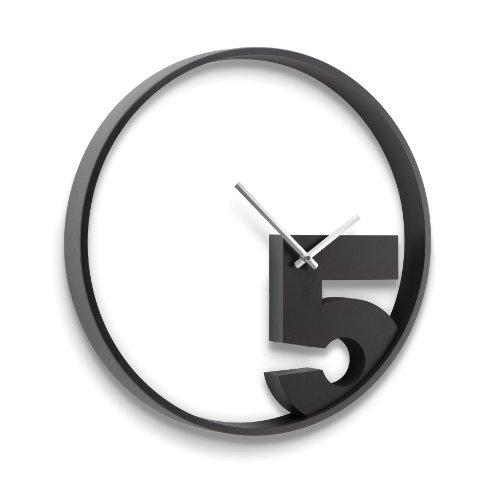 RoomClip商品情報 - umbra TAKE5 WALL CLOCK(テイク5 ウォールクロック φ52) BK/WH 2118998-040
