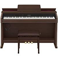 カシオ 電子ピアノ セルビアーノ キャビネットタイプ AP-460BN ブラウン
