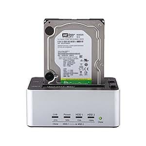 玄人志向 ハードディスクスタンド WD HDD2TBセット商品 KURO-DACHI/CLONE+AVGP-2TB