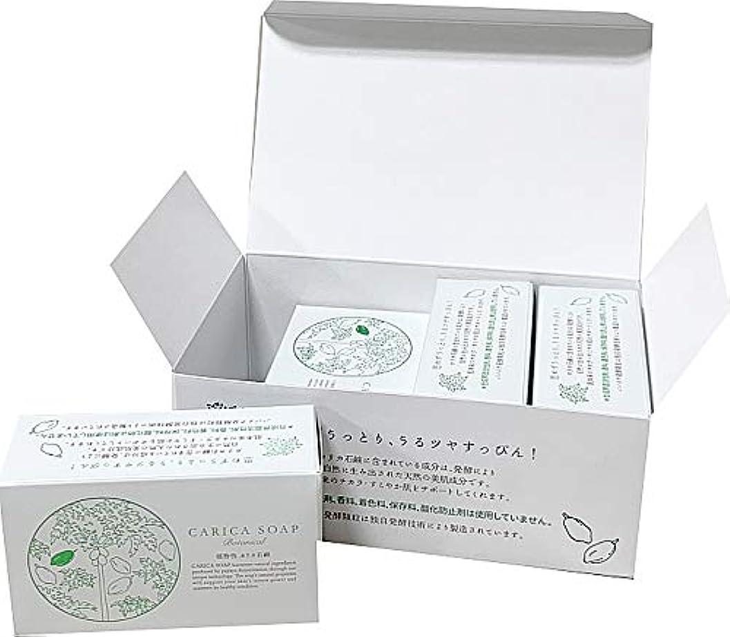 収まる賭け宝石植物性カリカ石鹸100g お得な4個セット(箱入)