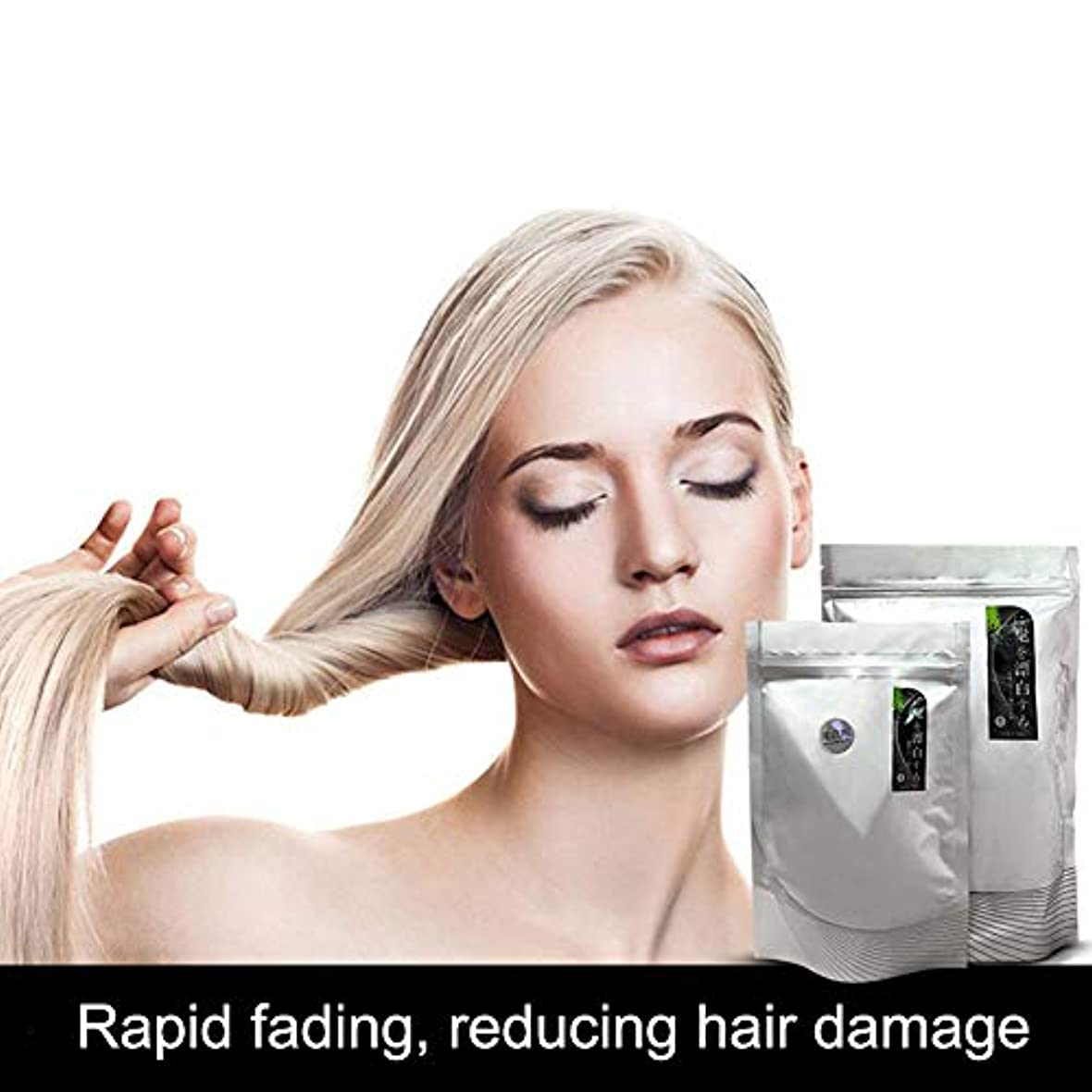 描く連合レンチMurakush 髪カラー 髪を白く パウダー フェージング クリーム ブリーチングサロン ヘアダイスタイリング剤