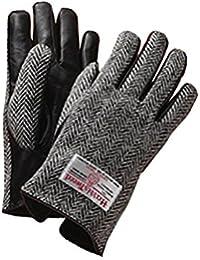 Harris Tweed(ハリスツイード)メンズ 手袋 / グローブ (M, グレー)
