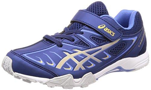 [アシックス] 運動靴 LAZERBEAM SC-MG キッズ インディゴブルー/リッチゴールド 24.5 cm