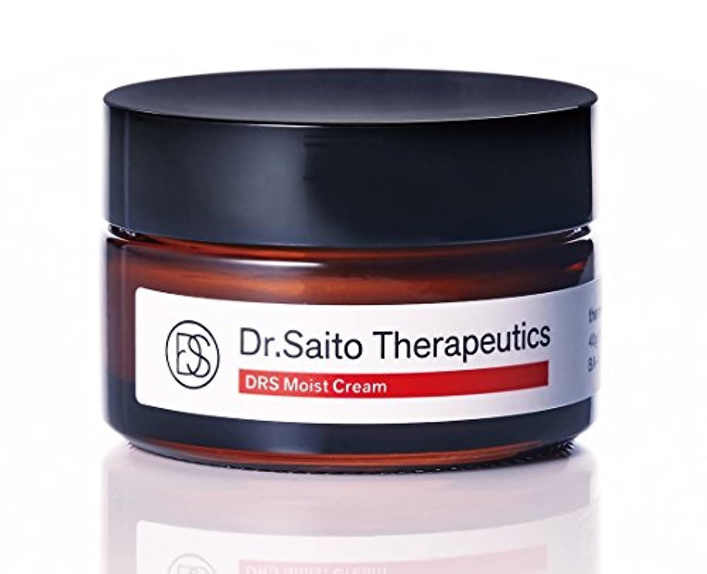 資金コンパニオン革命日本機能性医学研究所 Dr.Saito Therapeutics「DRS保湿クリーム」40g