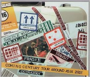 Coming Century tour around Asia 2001の詳細を見る