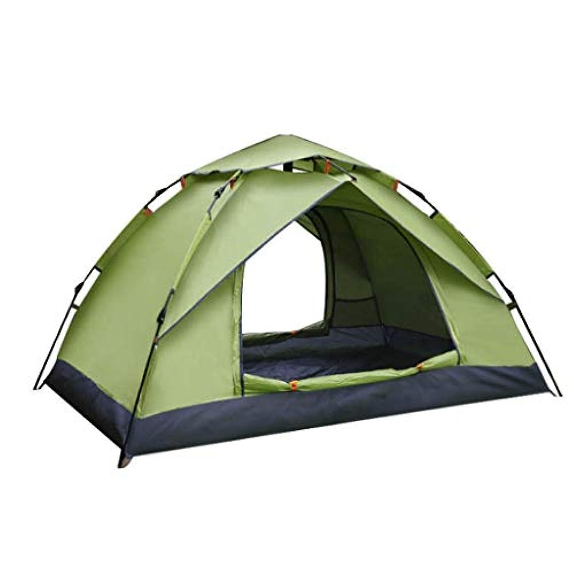 ヒューバートハドソン上院議員縫う屋外ダブル自動テント厚い防雨テントキャンプ両開きドアオーニング