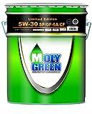 Amazon.jp限定 モリグリーン エンジンオイル 5W-30 SP/GF-6A/CF 全合成油 20L 0470178