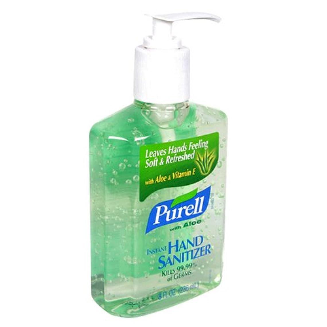 最初政府危険な海外直送品Purell Purell Advanced Hand Sanitizer Gel With Pump Aloe, Aloe 8 oz