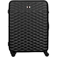 Wenger 604342 Lumen Expandable Hardside Upright Luggage, Black, 75 Centimeters