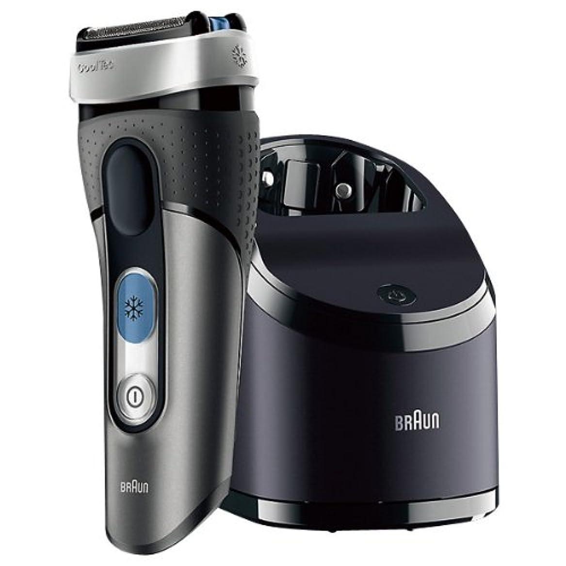 作詞家測定可能一般的に言えばブラウン シェーバー Cool Tec(クールテック) エディオンオリジナルカラー 冷却ヘッドテクノロジー搭載 自動アルコール洗浄器付 CT3CCE9