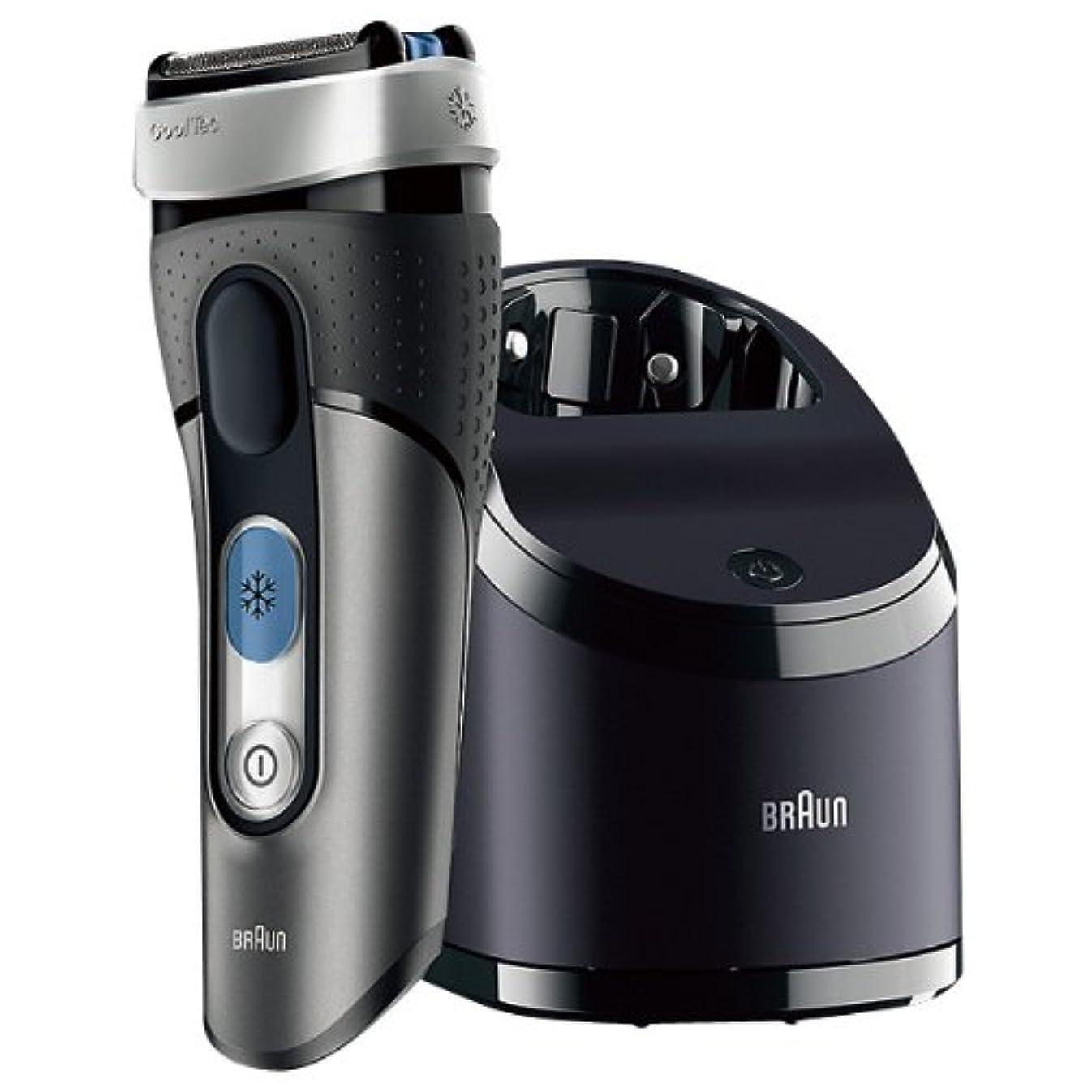 名門それによって激怒ブラウン シェーバー Cool Tec(クールテック) エディオンオリジナルカラー 冷却ヘッドテクノロジー搭載 自動アルコール洗浄器付 CT3CCE9
