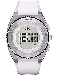 07b05ec0ea [アディダス] adidas メンズ レディース スプラング スポーツウォッチ デジタル 防水 シルバー×ホワイト ADP3254 腕時計