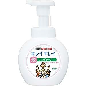 キレイキレイ 薬用 泡ハンドソープ シトラスフルーティの香り 本体ポンプ 250ml (医薬部外品)