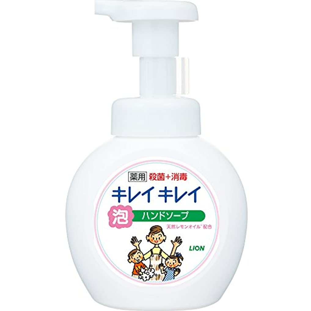 協力する幻想的世代キレイキレイ 薬用 泡ハンドソープ シトラスフルーティの香り 本体ポンプ 250ml(医薬部外品)