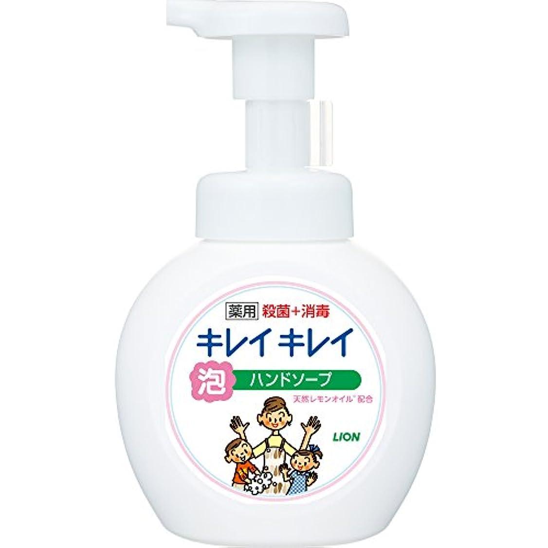 パールクリップ観察するキレイキレイ 薬用 泡ハンドソープ シトラスフルーティの香り 本体ポンプ 250ml(医薬部外品)