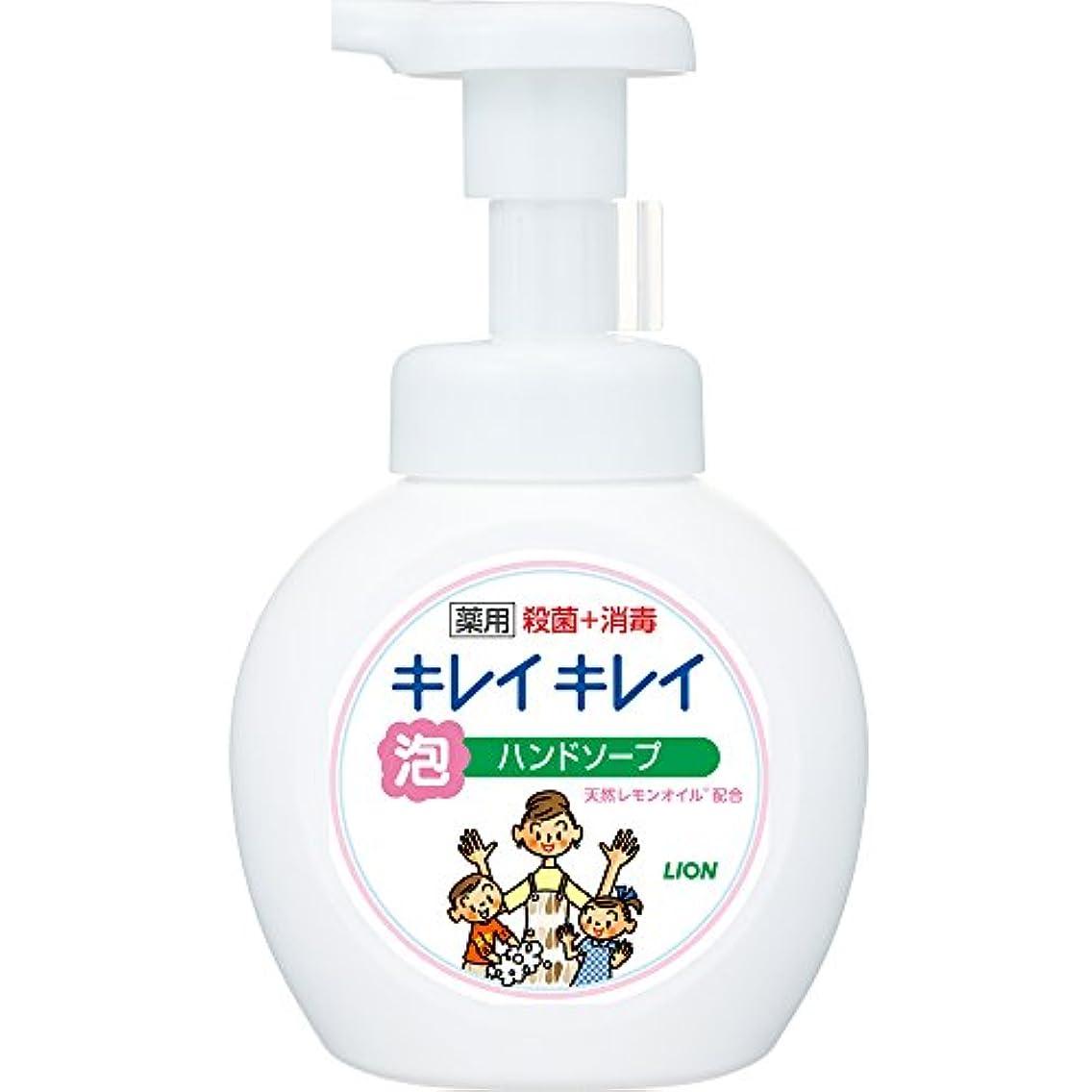 生まれエアコンどうやってキレイキレイ 薬用 泡ハンドソープ シトラスフルーティの香り 本体ポンプ 250ml(医薬部外品)