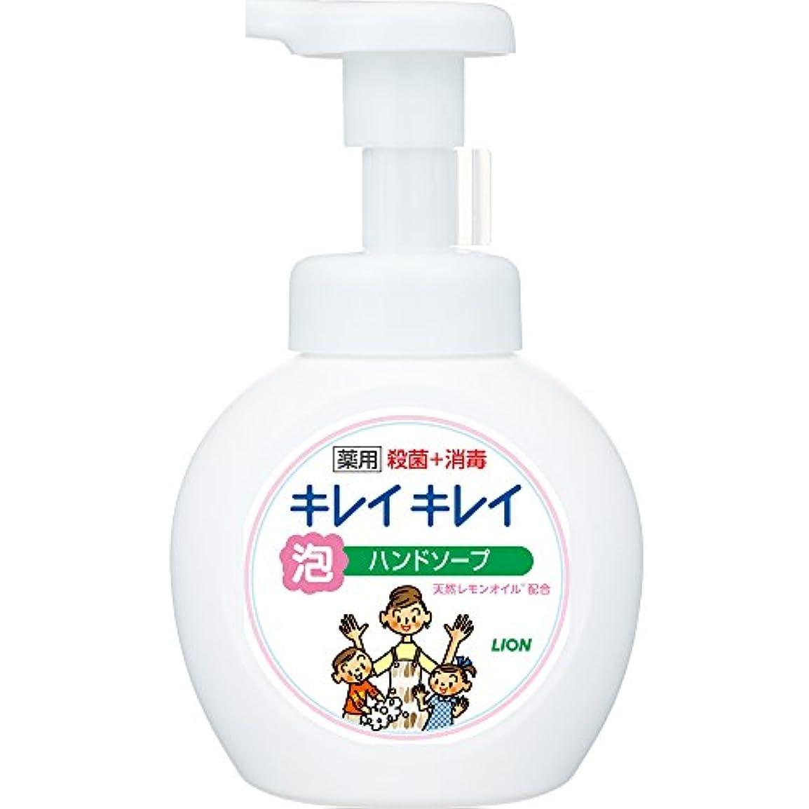 知的薄いですとげのある【医薬部外品】キレイキレイ 薬用 泡ハンドソープ シトラスフルーティの香り 本体ポンプ 250ml
