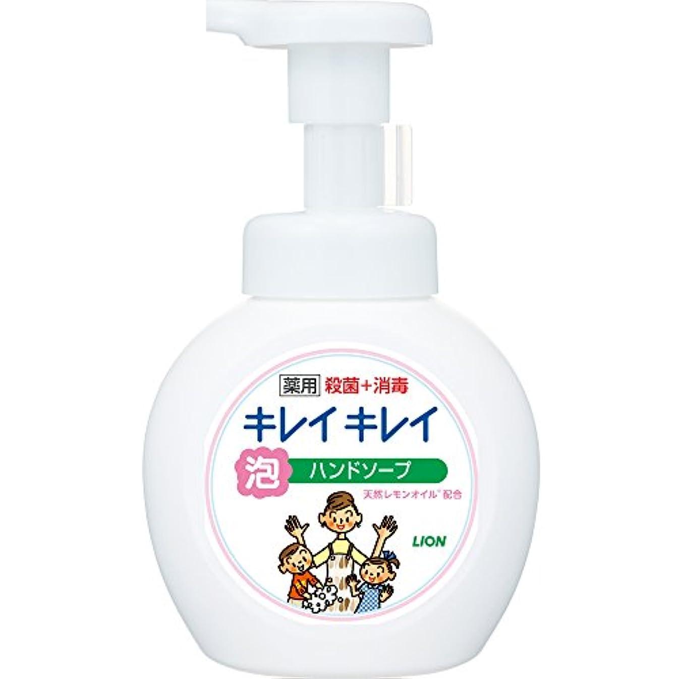 最小化する局症候群キレイキレイ 薬用 泡ハンドソープ シトラスフルーティの香り 本体ポンプ 250ml(医薬部外品)