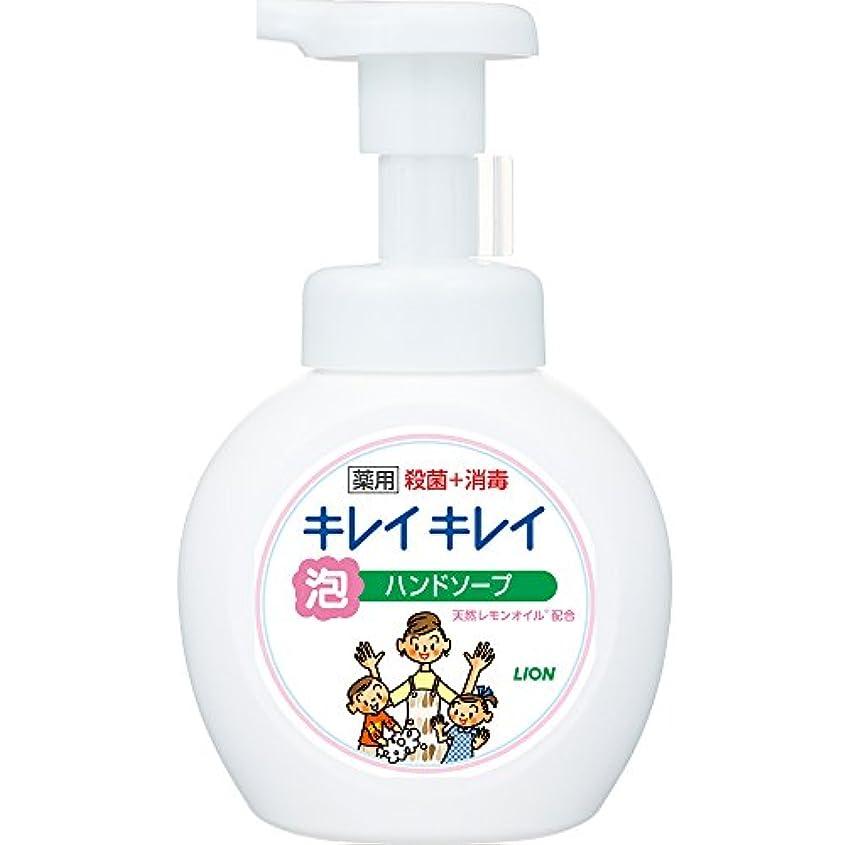 正しく閉塞ふけるキレイキレイ 薬用 泡ハンドソープ シトラスフルーティの香り 本体ポンプ 250ml(医薬部外品)