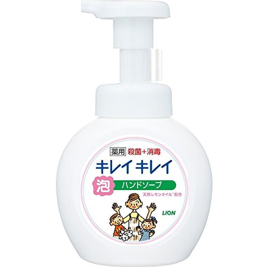 おめでとう頻繁に億キレイキレイ 薬用 泡ハンドソープ シトラスフルーティの香り 本体ポンプ 250ml(医薬部外品)
