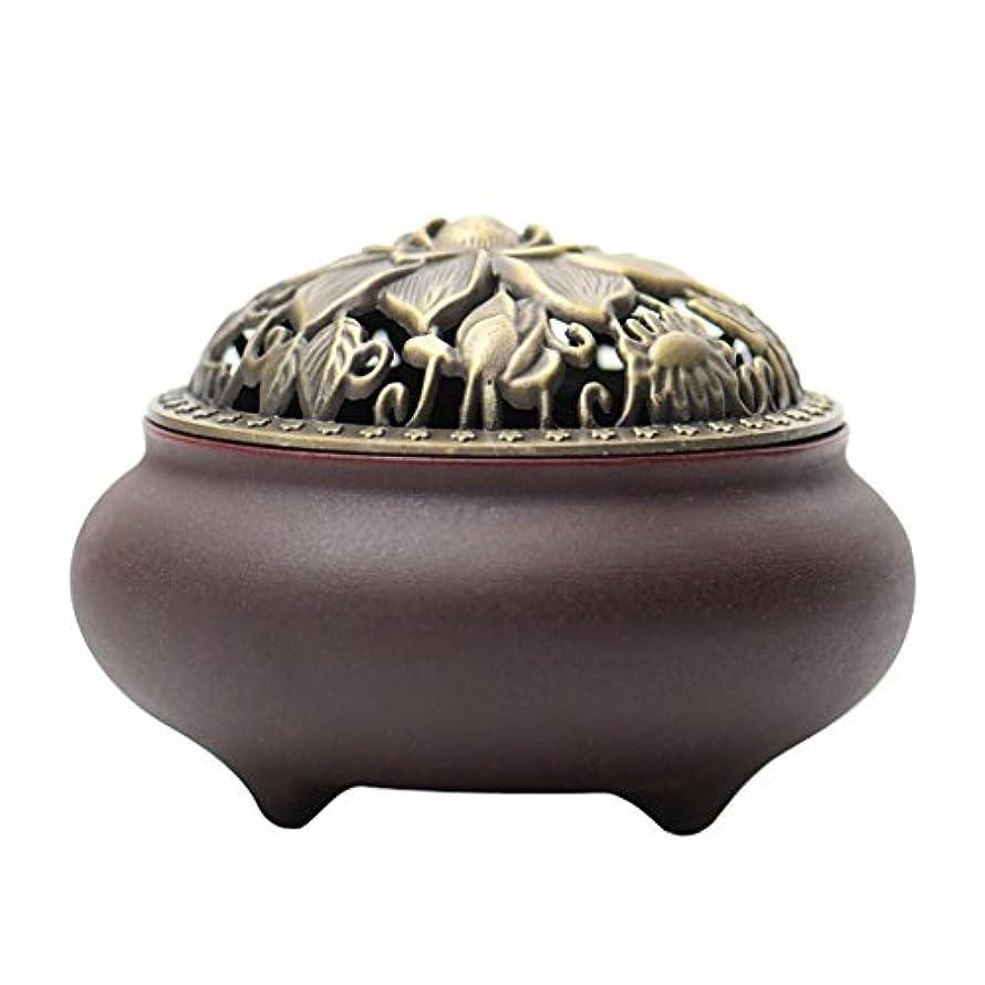 頑張る居間第五(ラシューバー) Lasuiveur 香炉 線香立て 香立て 職人さんの手作り 茶道用品 おしゃれ  木製 透かし彫り