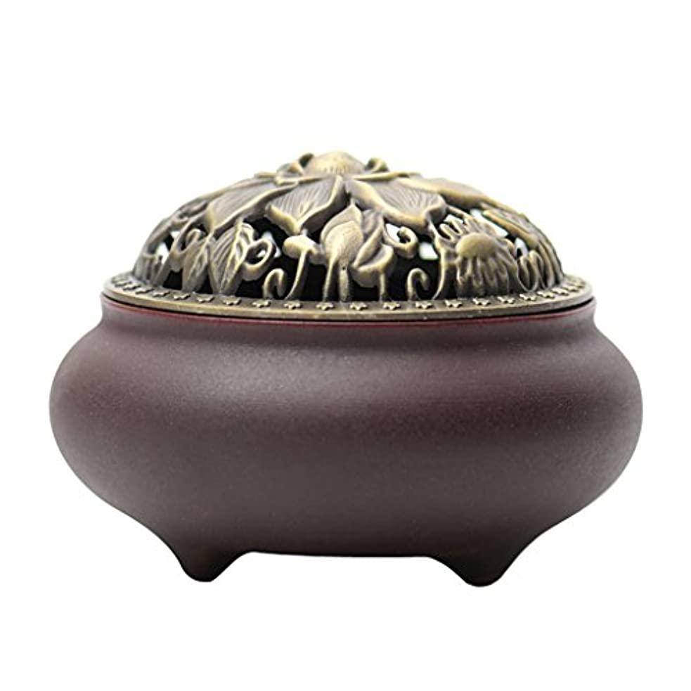 笑再生束(ラシューバー) Lasuiveur 香炉 線香立て 香立て 職人さんの手作り 茶道用品 おしゃれ  木製 透かし彫り
