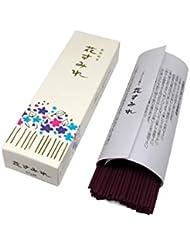 Gyokushodo 日本製お香スティック Hana Sumire - 花の香り バイオレット - ミディアムパック - 5.5インチ 110本 - 日本製