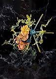 Bandai - Figurine DBZ - Super Saiyan Son Goku The Burning Battles Figuarts Zero 20cm - 4573102553881