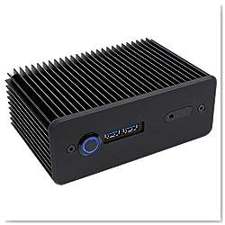 Impactics D3NU1-IR-25-B Intel NUC Gehäuse - schwarz