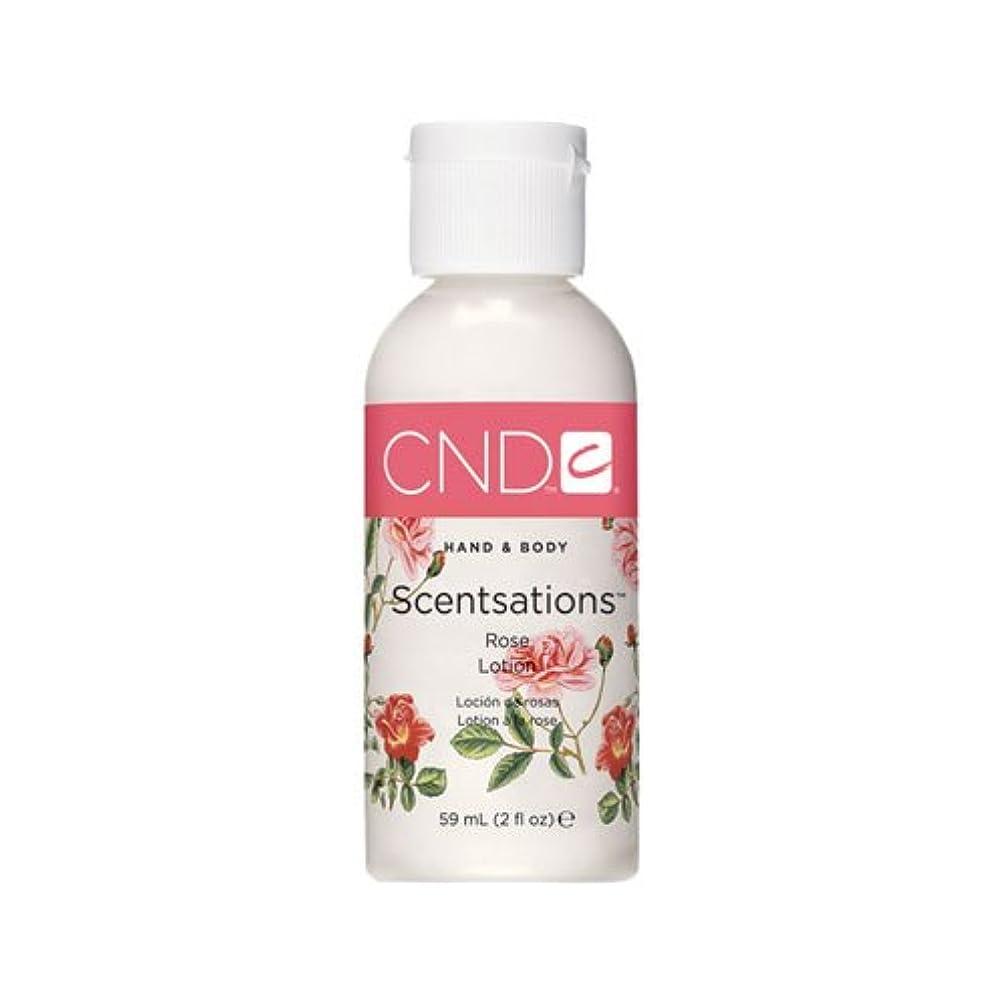 土砂降り異常助言CND センセーションハンド&ボディ ローション ローズ 59ml うっとりするローズの優雅な香り