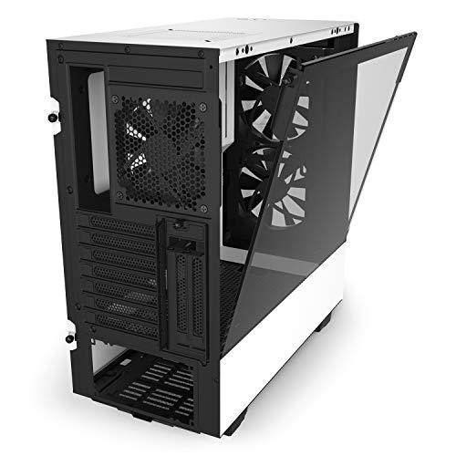 『NZXT H510 Elite 前面+側面ガラスパネル RGB LED発光&ファン制御機能搭載 [ White & Black ] CA-H510E-W1』の4枚目の画像