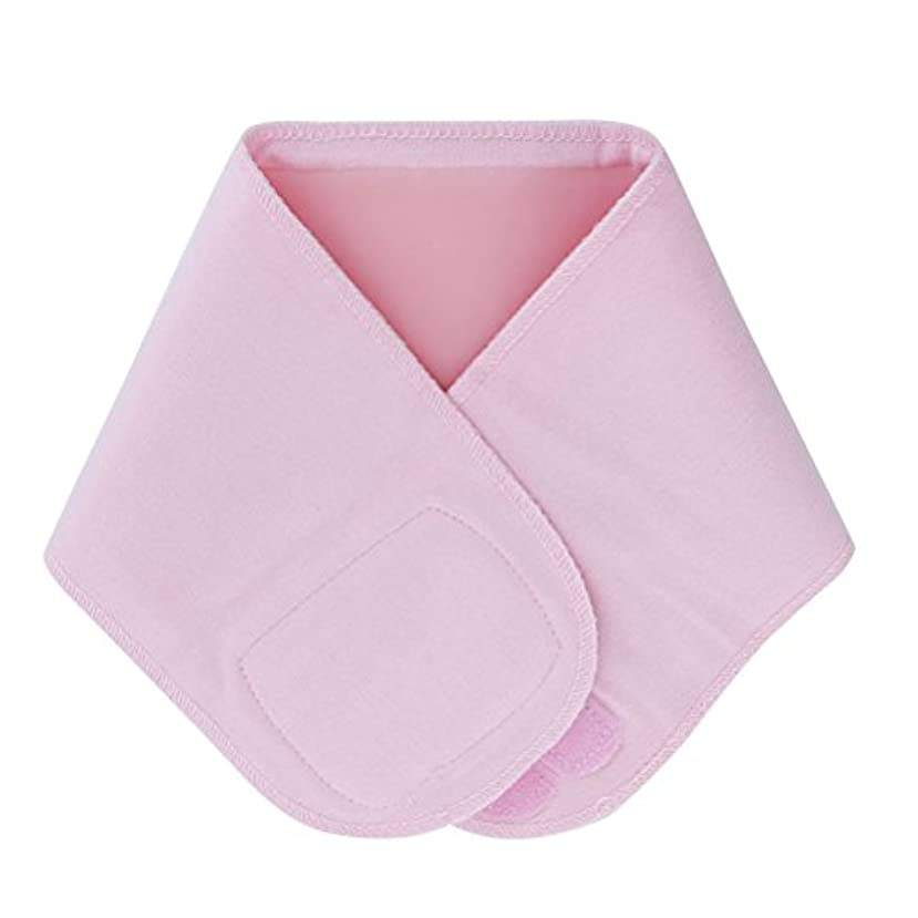 好戦的な盟主州Lurrose ジェルネックラップ伸縮性保湿スムースホワイトニングネックスキンアンチリンクルカラー(ピンク)