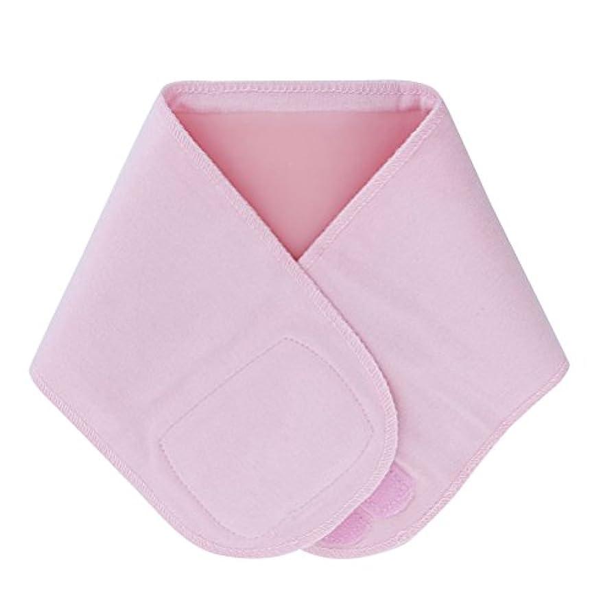 ボンド安心流行しているLurrose ジェルネックラップ伸縮性保湿スムースホワイトニングネックスキンアンチリンクルカラー(ピンク)
