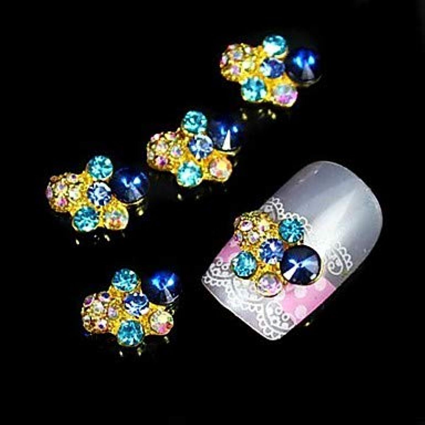 ローマ人バリア転送指のつま先のための金属のネイルジュエリー他の素敵なネイルアートマニキュアペディキュアフルーツの花抽象毎日漫画パンク