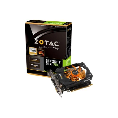 ZOTAC GeForce GTX 750 1GB グラフィックスボード 日本正規代理店品 VD5282 ZTGTX750-1GD5R01