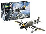 ドイツレベル 1/32 イギリス空軍 ホーカー テンペスト V プラモデル 03851