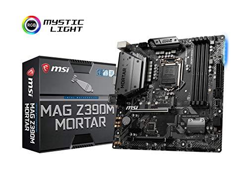 MSI MAG Z390M MORTAR M-ATX ゲーミングマザーボード  Intel Z390チップ搭載  MB4645