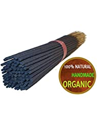 Yajna Frankincense And Myrrh 100% Natural Incense Sticks Handmade Hand Dipped The Best Woods Scent 100 Pack