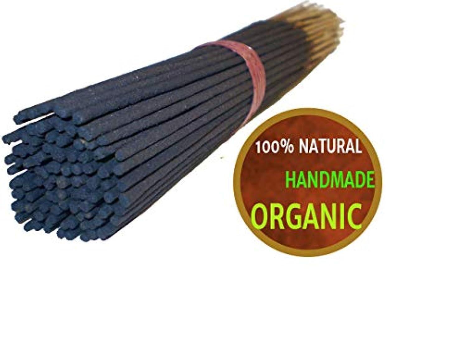 顕現カウンタさびたYajna Frankincense And Myrrh 100% Natural Incense Sticks Handmade Hand Dipped The Best Woods Scent 100 Pack
