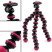 【ぐにゃぐにゃ三脚】 デジタルカメラ用 三脚 CAMERA TRIPOD ピンク
