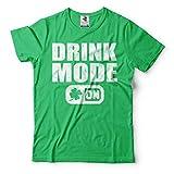 Silk Road Tees メンズ セントパトリックデーおかしいアイルランド党Tシャツを飲みます
