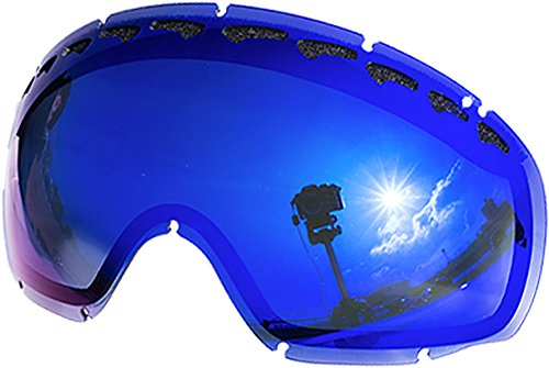 2337b9057da ZEROブランド オークリー CROWBAR用交換レンズ BLUE MIRROR 弊社オリジナルブランド製品。オークリーのゴーグル CROWBAR :クローバーに対応した交換レンズ。