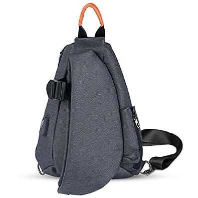 ボディーバッグ 斜めがけバッグ ワンショルダーバッグ スポーツバッグ 軽量 USBポット付き Pad mini 収納可 メンズ 10L 自転車 通勤 旅行に対応