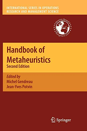 Download Handbook of Metaheuristics (International Series in Operations Research & Management Science) 1461426901