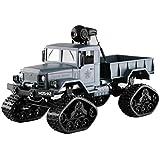 車AppコントロールRC Military Truck with WiFiカメラ4 WD 1 / 16 Army Crawlerオフロード one size グリーン