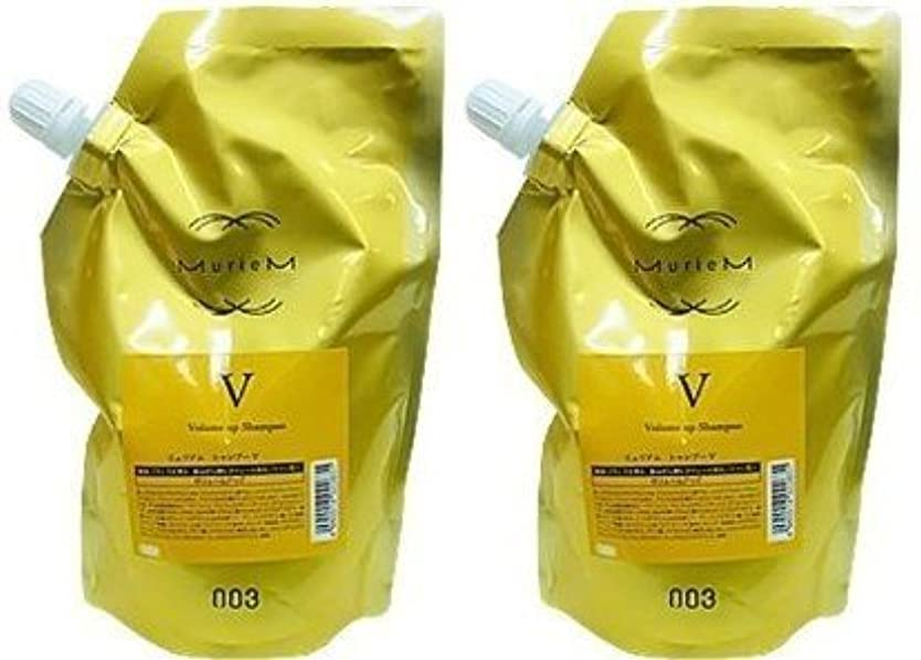 質素な刺します体系的に【X2個セット】 ナンバースリー ミュリアム ゴールド シャンプー V 500ml 詰替え用