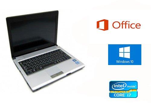 【Microsoft Office 2016搭載】【新品SSD 240GB搭載】【Win10】NEC VK17HB-D/第二世代Core i7 1.7GHz/メモリ4GB/新品SSD 240GB/12.1インチ/中古ノートパソコン