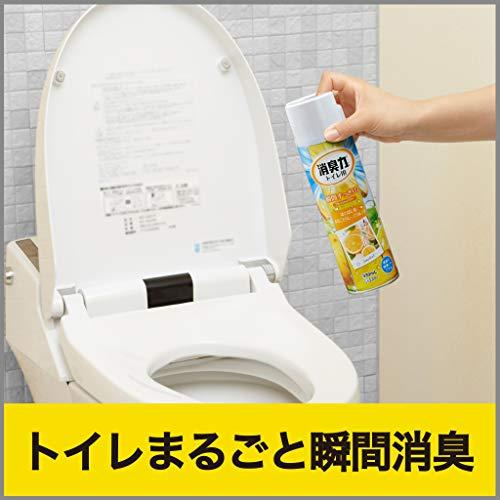 『【まとめ買い】 トイレの消臭力スプレー 消臭芳香剤 トイレ用 トイレ グレープフルーツの香り 330ml×3個』の2枚目の画像