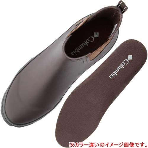 Columbia(コロンビア) レイン ブーツ RUDDY SLIP サイドゴブーツ 長靴 雨靴 レインシューズショートブーツ メンズ 010-Black 8.0(26.0cm) yu3774-80-010
